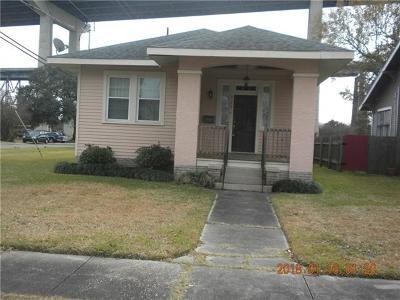 New Orleans Single Family Home For Sale: 529 Park Boulevard