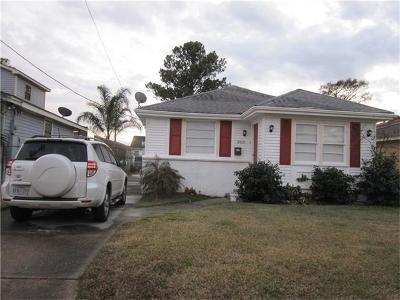 New Orleans Single Family Home For Sale: 3420 Trafalgar Street