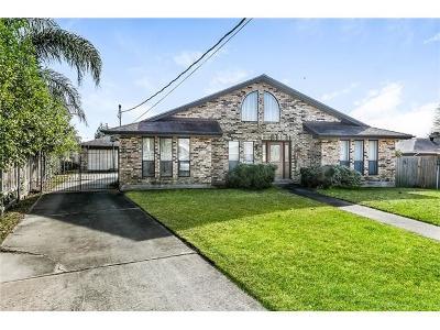 Kenner Single Family Home For Sale: 2401 43rd Street
