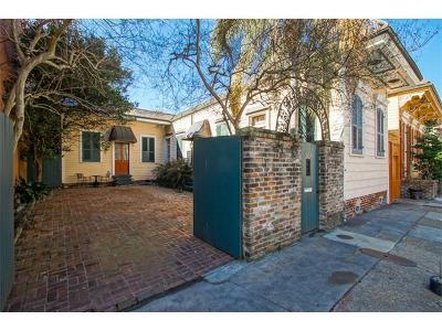 New Orleans Single Family Home For Sale: 614 Barracks Street