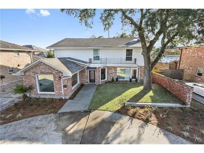 New Orleans Single Family Home For Sale: 5351 Bellaire Drive