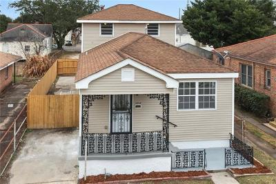 New Orleans Single Family Home For Sale: 2213 Independence Street