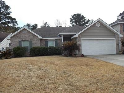 Slidell Single Family Home For Sale: 1538 Shylock Drive