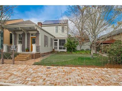 New Orleans Single Family Home For Sale: 3935 Chestnut Street