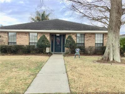 Destrehan Single Family Home For Sale: 297 Longview Drive