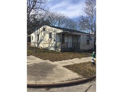 New Orleans Single Family Home For Sale: 4600 Rhodes Drive