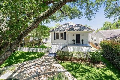 New Orleans Single Family Home For Sale: 5809 Marshal Foch Street