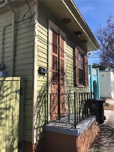 New Orleans Single Family Home For Sale: 3815 Marais Street