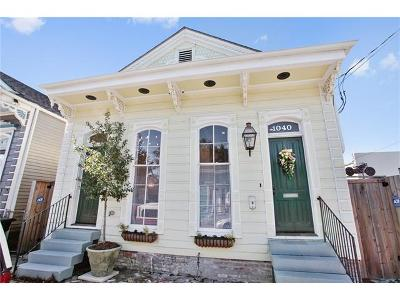 New Orleans Single Family Home For Sale: 1040 Clouet Street