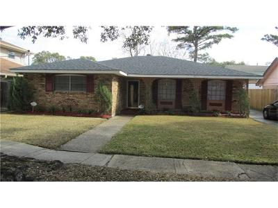 New Orleans Single Family Home For Sale: 4535 Knight Drive