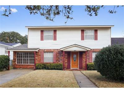 Marrero Single Family Home For Sale: 4025 Camphor Street