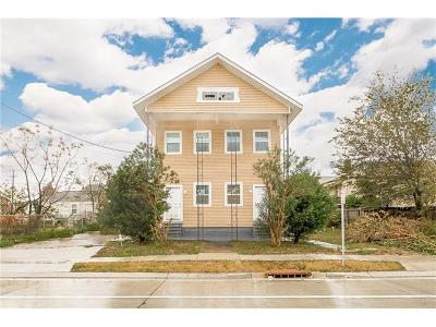New Orleans Multi Family Home For Sale: 2614-16 N Galvez Street