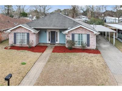 Destrehan Single Family Home For Sale: 92 Ormond Meadows Drive