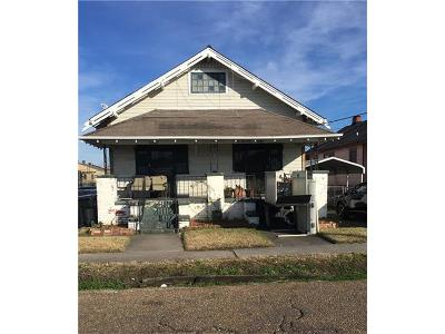 New Orleans Single Family Home For Sale: 2523 Republic Street