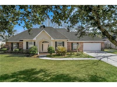 Mandeville Single Family Home For Sale: 7004 Meadowbrook Drive