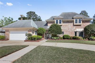 Kenner Single Family Home For Sale: 182 Chateau Latour Drive