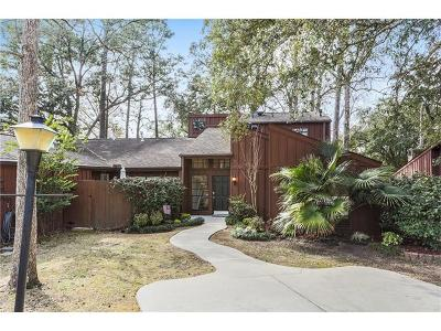 Mandeville Condo Pending Continue to Show: 640 N Beau Chene Drive #2