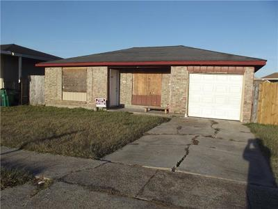 Marrero LA Single Family Home For Sale: $80,000