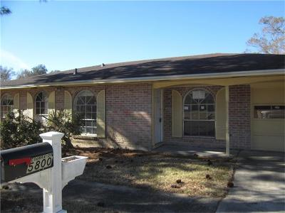 Single Family Home For Sale: 5800 Coubra Street