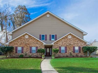 Destrehan, St. Rose Single Family Home For Sale: 91 Rosedown Drive