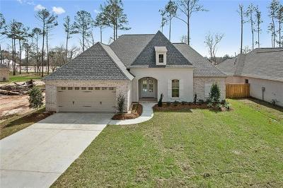 Madisonville Single Family Home For Sale: 744 Night Heron Lane
