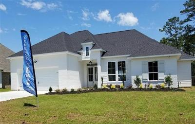 Madisonville Single Family Home For Sale: Lot 42 Spring Haven Lane