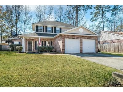 Mandeville Single Family Home For Sale: 846 McCruice Street