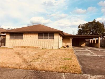 Single Family Home For Sale: 2030 Hyman Place