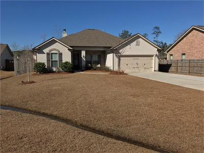 Single Family Home For Sale: 39621 Summer Lane