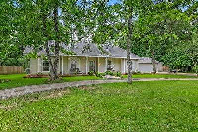 Mandeville Single Family Home For Sale: 312 Lexington Drive