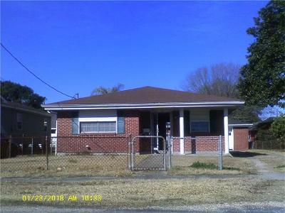 Westwego Single Family Home For Sale: 1102 Ave C Avenue