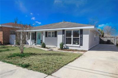 Kenner Single Family Home For Sale: 2503 Kansas Avenue