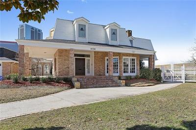 Metairie Single Family Home For Sale: 4008 Tolmas Drive