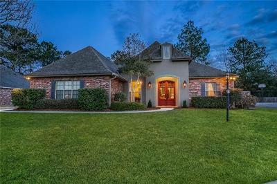 Mandeville Single Family Home For Sale: 16 Lorio Lane