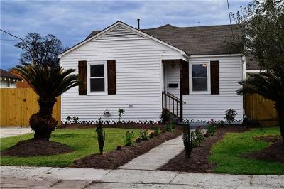 Kenner Single Family Home For Sale: 2014 Idaho Avenue