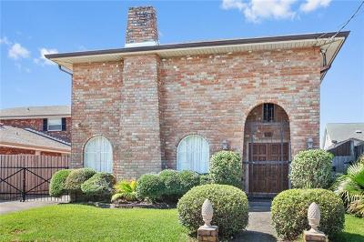 Metairie Single Family Home For Sale: 3412 5th Street
