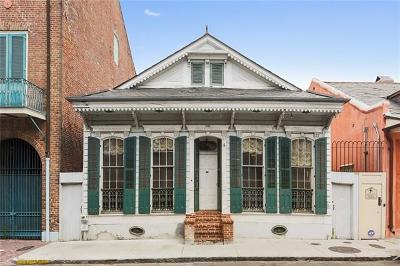 New Orleans Single Family Home For Sale: 1025 St Peter Street