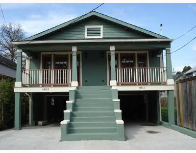 New Orleans Multi Family Home For Sale: 4811 Laurel Street
