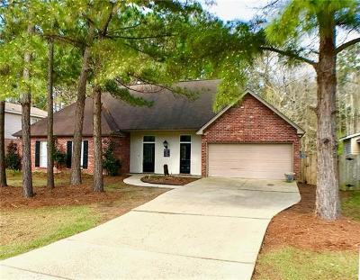 Mandeville Single Family Home For Sale: 19243 Hector Street