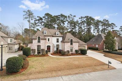 Mandeville Single Family Home For Sale: 30 Woodstone Drive