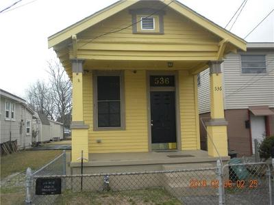 Harvey Single Family Home For Sale: 536 2nd Avenue