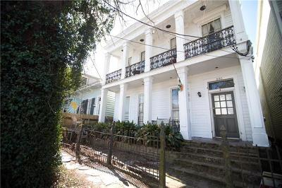 New Orleans Multi Family Home Pending Continue to Show: 832 Third Street