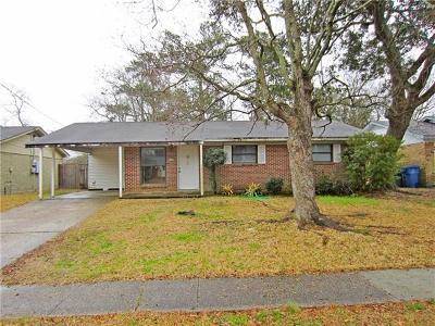 Slidell Single Family Home For Sale: 3728 Arrowhead Drive
