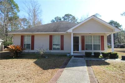 Slidell Single Family Home Pending Continue to Show: 650 Eighth Street