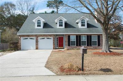 Mandeville Single Family Home For Sale: 1580 Cherry Ridge Court