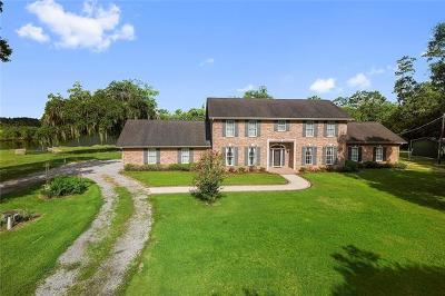 Slidell Single Family Home For Sale: 36260 Bayou Liberty Road