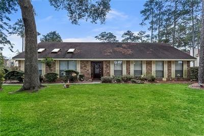 Mandeville Single Family Home Pending Continue to Show: 106 Cerf Place