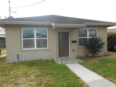 Gretna Single Family Home For Sale: 615 Carricox Street