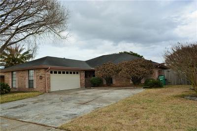 Marrero Single Family Home For Sale: 3921 Lolan Court