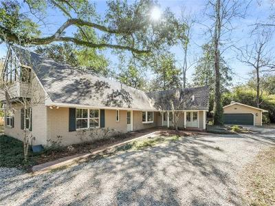 Mandeville Single Family Home For Sale: 139 Magnolia Street